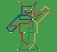 Robot: New Orleans Kids Tee