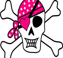 Pink Pirate by kasseggs