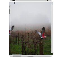 galahs in the mist iPad Case/Skin