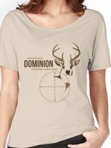 And God Gave Dominion Women's Relaxed Fit T-Shirt