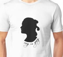 Rey is Gay Silhouette Unisex T-Shirt