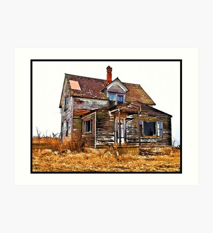 Regan Farm House Art Print