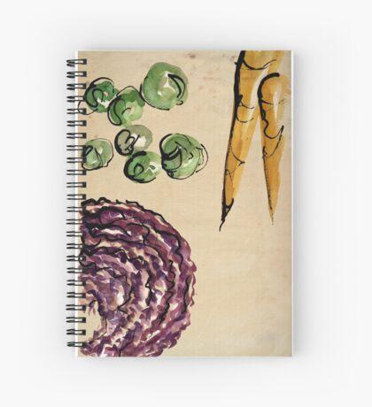 January treats Spiral Notebook
