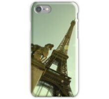 Horse and Eiffel iPhone Case/Skin