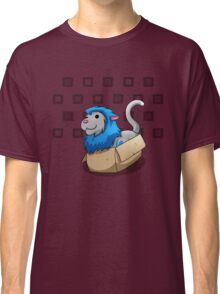 Derpkitty sits Classic T-Shirt