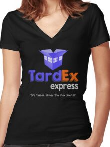 Tardex Express Women's Fitted V-Neck T-Shirt