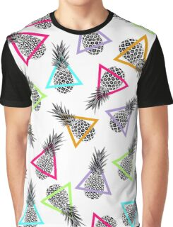 Pineapples & Triangles Graphic T-Shirt