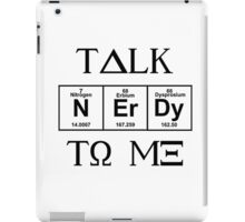 Talk Nerdy To Me, Greek Style iPad Case/Skin