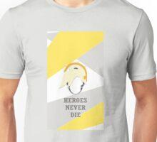 Heroes Never Die (Mercy) - Overwatch Unisex T-Shirt