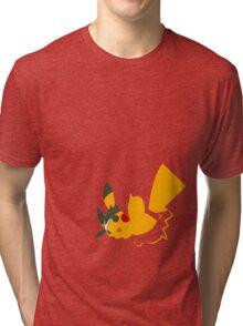 PIKACHU 20th ANNIVERSARY MINIMAL Tri-blend T-Shirt