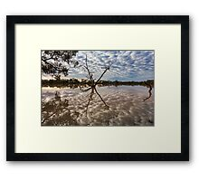 Cloud Reflections - Kilocowera Station Framed Print