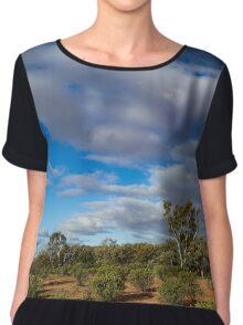 Colours of the Outback - Kilcowera Station Chiffon Top