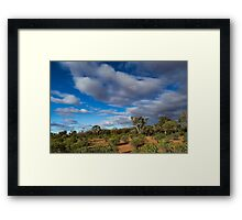 Colours of the Outback - Kilcowera Station Framed Print