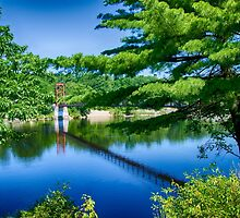 Androscoggin Swing Bridge by Anthony M. Davis