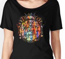 Watercolor, Another Day In Paradise, Boho, Beach Women's Relaxed Fit T-Shirt