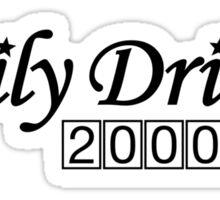 Daily Driven (2) Sticker