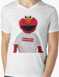 ELMO SUPERMEME 2 Mens V-Neck T-Shirt
