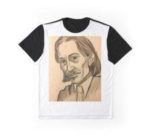 Portrait of Robert Louis Stevenston  Graphic T-Shirt