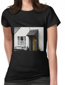No. 9 - a house in Clonmany, Donegal, Ireland Womens Fitted T-Shirt