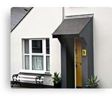 No. 9 - a house in Clonmany, Donegal, Ireland Metal Print
