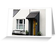 No. 9 - a house in Clonmany, Donegal, Ireland Greeting Card