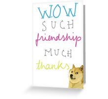 much card Greeting Card