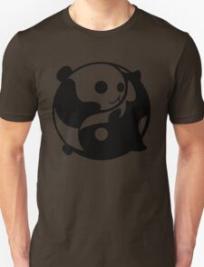 Yin and Yang- Panda and Orca Unisex T-Shirt