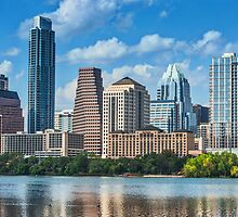 Austin Skyline View by Tod and Cynthia Grubbs