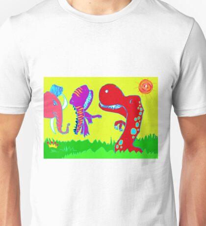 Sizzlining Fun in Scorching Sun  Unisex T-Shirt