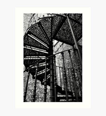Stair to heaven Art Print