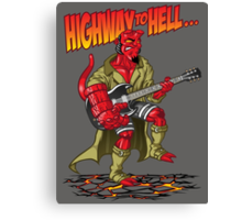Highway to hell(boy) Canvas Print