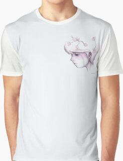 Weeping Flowers Graphic T-Shirt