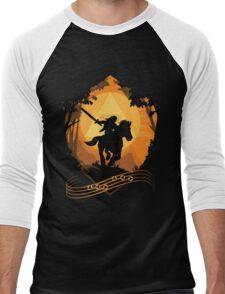 Legend of Zelda: Ocarina of Time - Epona's Song Men's Baseball ¾ T-Shirt
