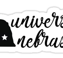 University of Nebraska - Style 5 Sticker