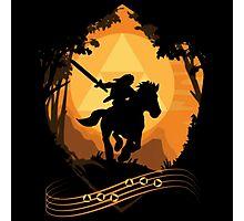Legend of Zelda: Ocarina of Time - Epona's Song Photographic Print