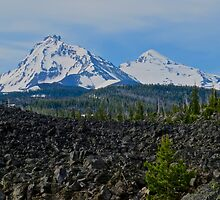 Mountain View from the Lava Fields by gcampbell