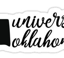 University of Oklahoma - Style 5 Sticker