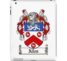Allen (Dublin 1577)  iPad Case/Skin