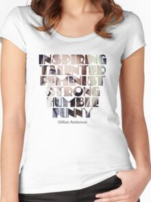 Feature of G.Anderson design Women's Fitted Scoop T-Shirt