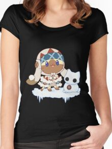 Snowcat Women's Fitted Scoop T-Shirt