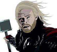 Thor by rouseyburga