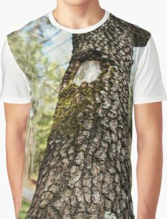 Moss-Covered Branch Graphic T-Shirt