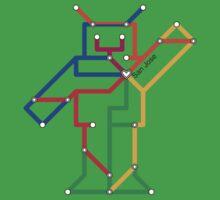Robot: San Jose Kids Tee