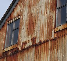 Icelandic Weathered building by HannahLstaples