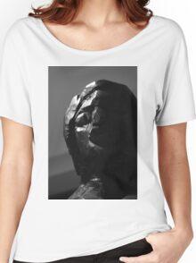 Wood Sculpture Head Women's Relaxed Fit T-Shirt