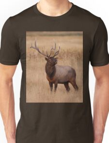 Funny Elk Raspberry Unisex T-Shirt