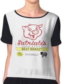Satriale's Pork Store Women's Chiffon Top