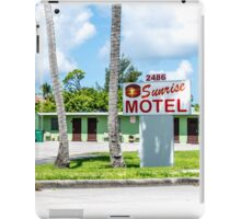 Sunrise Motel 1941 iPad Case/Skin