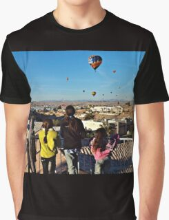Kids & Balloons Graphic T-Shirt