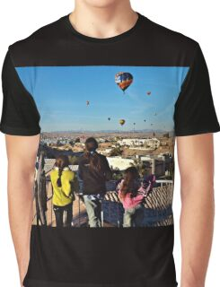 Kids & Balloons Graphic T-Shirt